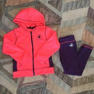 Body Glove Pink and Blue Track Suit Set